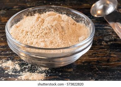 Maca Root Powder in an ingredient bowl