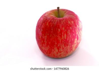 Maca vermelha em closeup (red apple closeup in portuguese)
