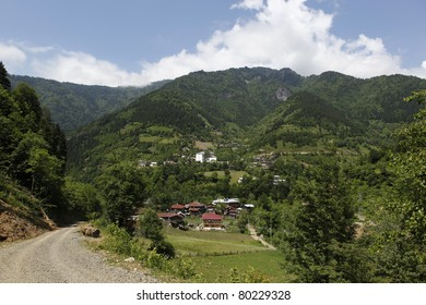 Macahel Valley and Camili Village in Eastern Black Sea,Artvin,Turkey