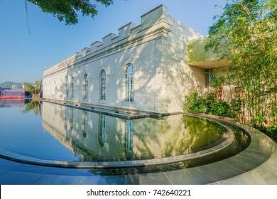 MACAO, CHINA - OCT 21 : Museum of Macau at Monte fortress is the famous tourist attraction point in Macau , China on October 21 2017.
