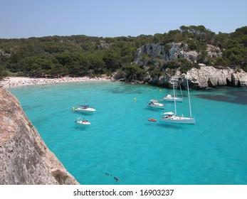Macarella Beach (Menorca)