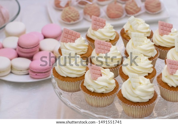 Macarons Sweet Desserts Wedding Wedding Sweet Stock Photo Edit Now 1491551741