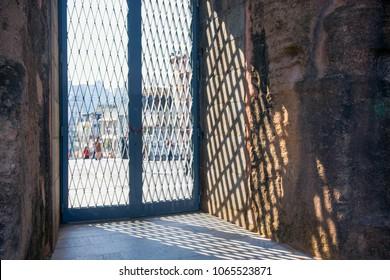 Macau - January 15, 2018 :The ruins of the old wall St. Paul Catholic Church, historic architecture as landmark of Macau