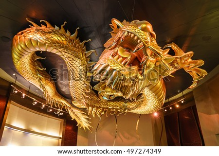 Macau January 24 2016 Dragons Treasure Stock Photo Edit Now