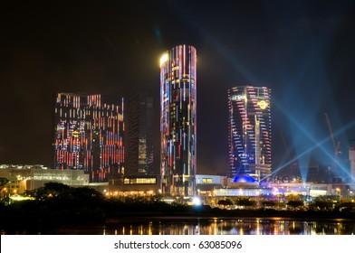 MACAU - JUNE 1: Opening of City of Dream - the casino city in Macau. June 1, 2009 in Macau China.