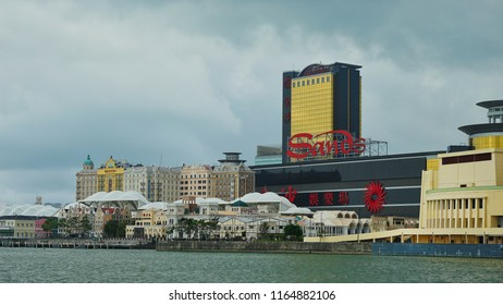 Macau - May 4th 2018: Sands Hotel and Casino in Macau.