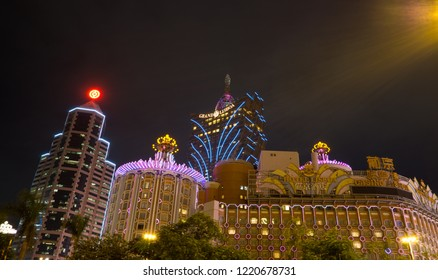 Macau-22 Nov 2017 : Macau is a casino city, grandeur building and modern era of aesthetic design, invites you to soak in the fascination fusion and experience mesmerizing opulence of this city.