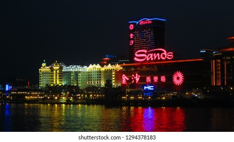 Macau/China- 2016: Sands Casino in Macau