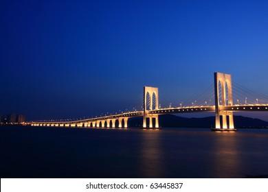 Macau-Taipa bridge, Macau