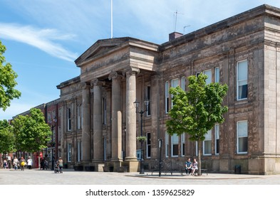 Macclesfield town hall and council offices in Macclesfield Cheshire. Macclesfield,UK - June 4 2018