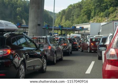 a446f3638b Macelj Gruskovje Border Slovenia Croatia July Stock Photo (Edit Now ...