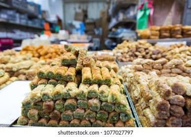 At Machane Yehudah Market in Jerusalem, Israel