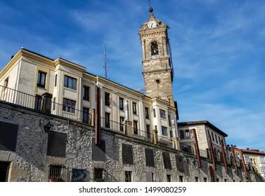 The Machete square in Vitoria (Alava, Basque Country)