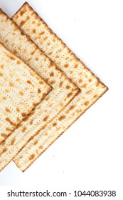 Machine baked matza crackers for the Jewish festival of Passover