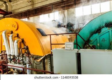 Machine equipment in the factory