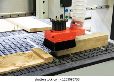 A machine for the production of furniture. The industrial production. Furniture accessories.