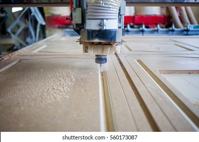 Machine working cnc