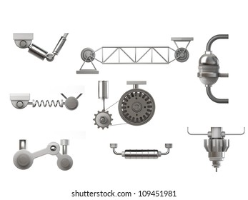 machinery and gear elements