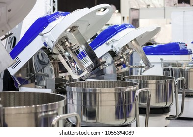 Machines in food factory, confectionery industry