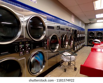 Machines at the Laundromat