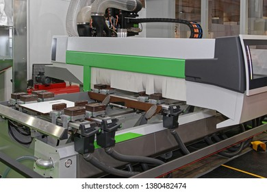 Machining Centre CNC Woodworking Equipment in Workshop