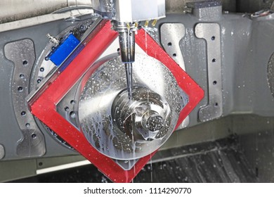 machining a worm gear on a CNC machine