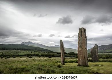 Machrie Moor Standing Stones, Isle of Arran.