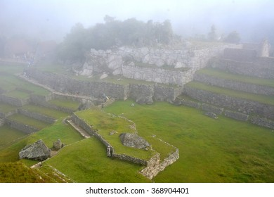 Machu Picchu - the ancient Inca city, located on the territory of modern Peru at the top of a mountain ridge at an altitude of 2,450 meters above sea level.