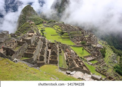 Machu Picchu archaeological site of pre-Columbian civilization of the Incas abandoned only city on the Andes cordillera mountains archeology peru lima