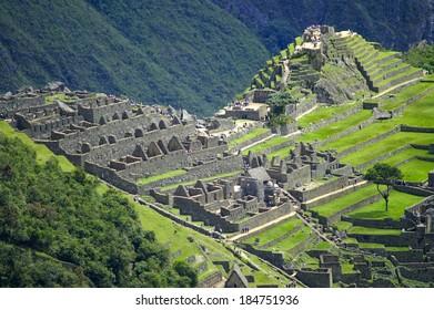 Machu Picchu - the lost city of the Incas, Peru