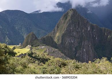 Machu Picchu - the lost city of the Incas, Peru.