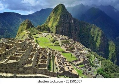 Machu Picchu Lost city of Inkas, new world wonder