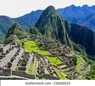 Machu Picchu in Peru is one of the new Seven Wonders of the World.