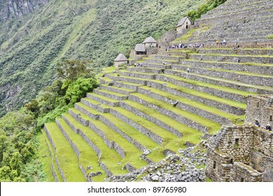 "Machu Picchu (Peru) is a pre-Columbian 15th-century Inca site located 2,430 meters above sea level on a mountain ridge above the Urubamba Valley. Often referred to as the ""Lost City of the Incas."