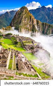 Machu Picchu, Peru - Ruins of Inca Empire city, in Cusco region, amazing place of South America.