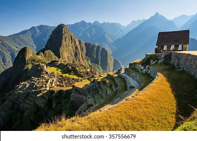Machu Picchu sunrise, Peru (nice colorful image)