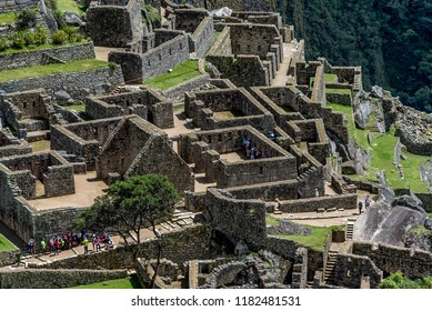 Machu Picchu,Peru- March 15, 2017: Archeological site of Machu Picchu ,Peru