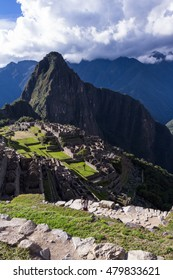 Machu Pichu, Peru - May 16 : The Lost City of the Incas or Machu Pichu, beautiful site in Peru. May 16 2016, Machu Pichu Peru.