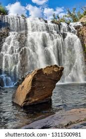 MacKenzie Waterfalls in the Grampians region of Victoria, Australia.