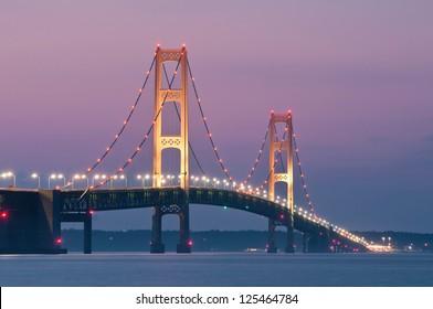 Mackinac Bridge Mackinaw City, Michigan