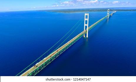 Mackinac Bridge / Mackinaw Michigan