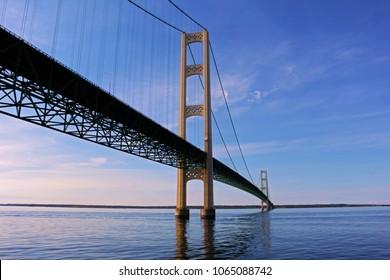 Mackinac Bridge in Michigan