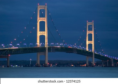 Mackinac Bridge, Michigan's Upper Peninsula