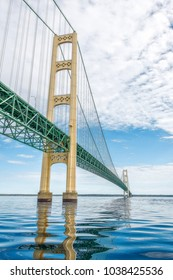 Mackinac Bridge Reflections