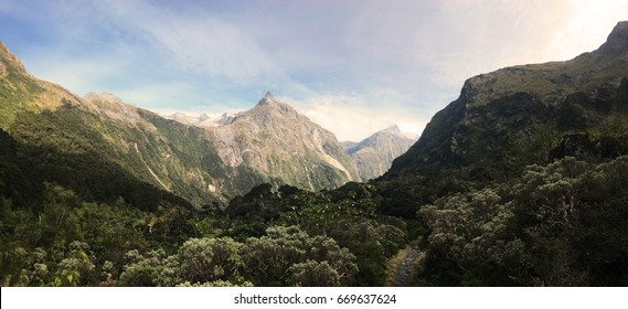 Mackinnon Pass of Milford Track, New Zealand