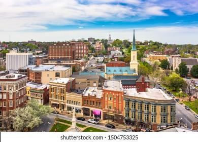 Macon, Georgia, USA downtown cityscape.