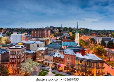 Macon, Georgia, USA downtown skyline.