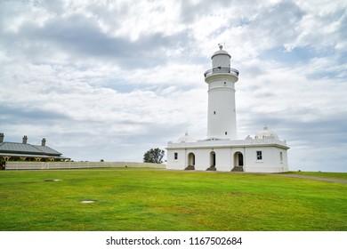 Macquarie lighthouse in Sydney, Australia.