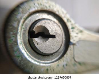 Macro of an empty key slot.