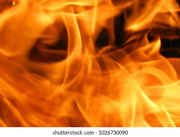 Macro Fire flame black red orange texture pattern background